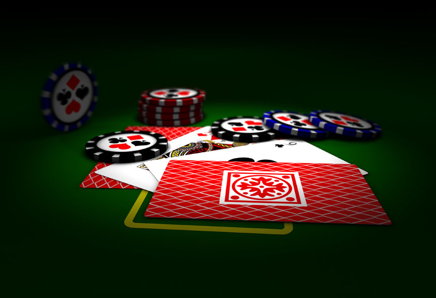nut flush poker