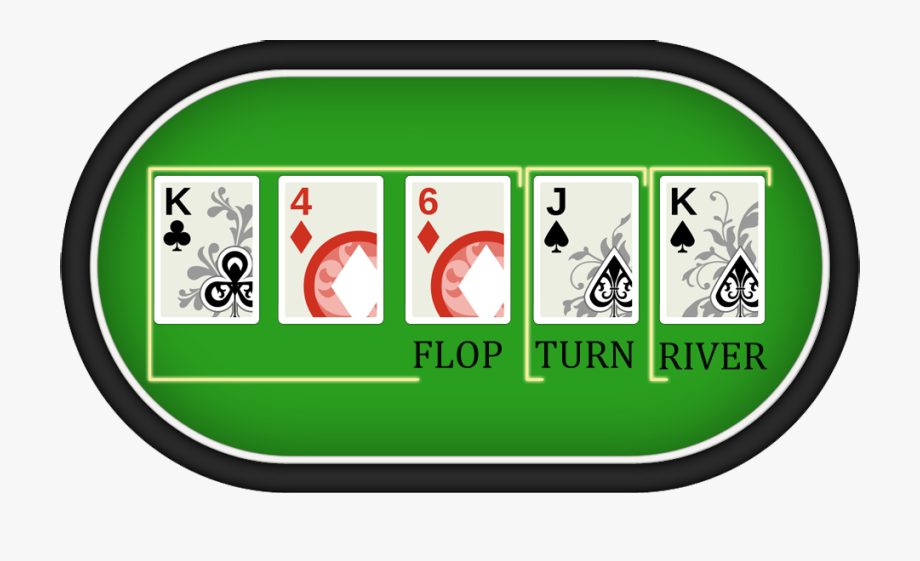 pokeris - flop, turn, river