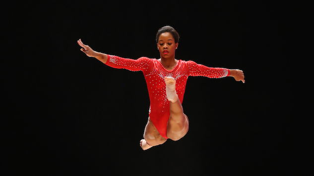 GLASGOW, SCOTLAND - OCTOBER 29: Gabrielle Douglas of the U.S. competes on the Beam during day seven of World Artistic Gymnastics Championships at The SSE Hydro on October 29, 2015 in Glasgow, Scotland. (Photo by Ian MacNicol/Getty images)