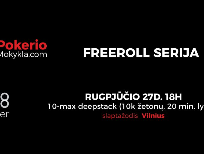 IV-as freeroll'as