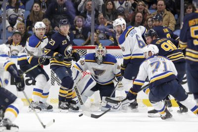 St. Louis Blues prieš Buffalo Sabres